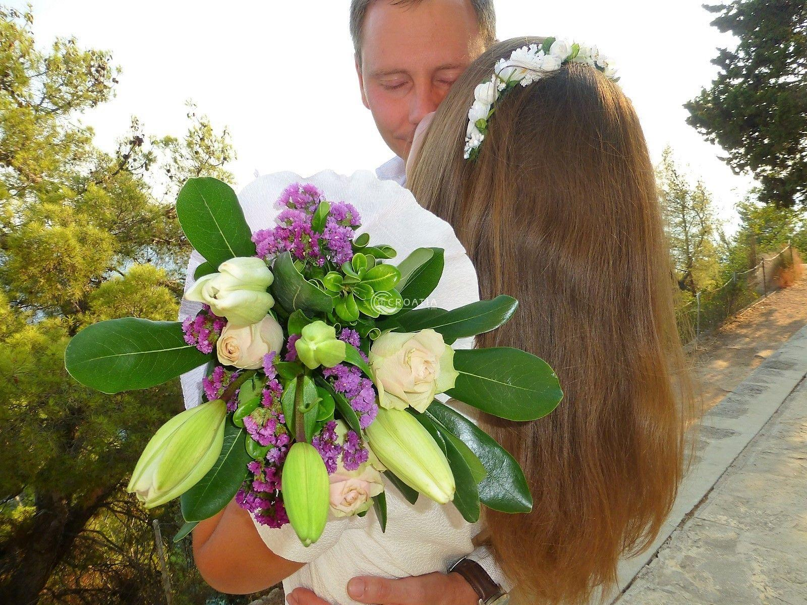 Wedding on Santuary of our Lady of Prizidnica location, Ciovo