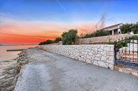 Traditional Stone Villa on island of Ciovo first line to the sea