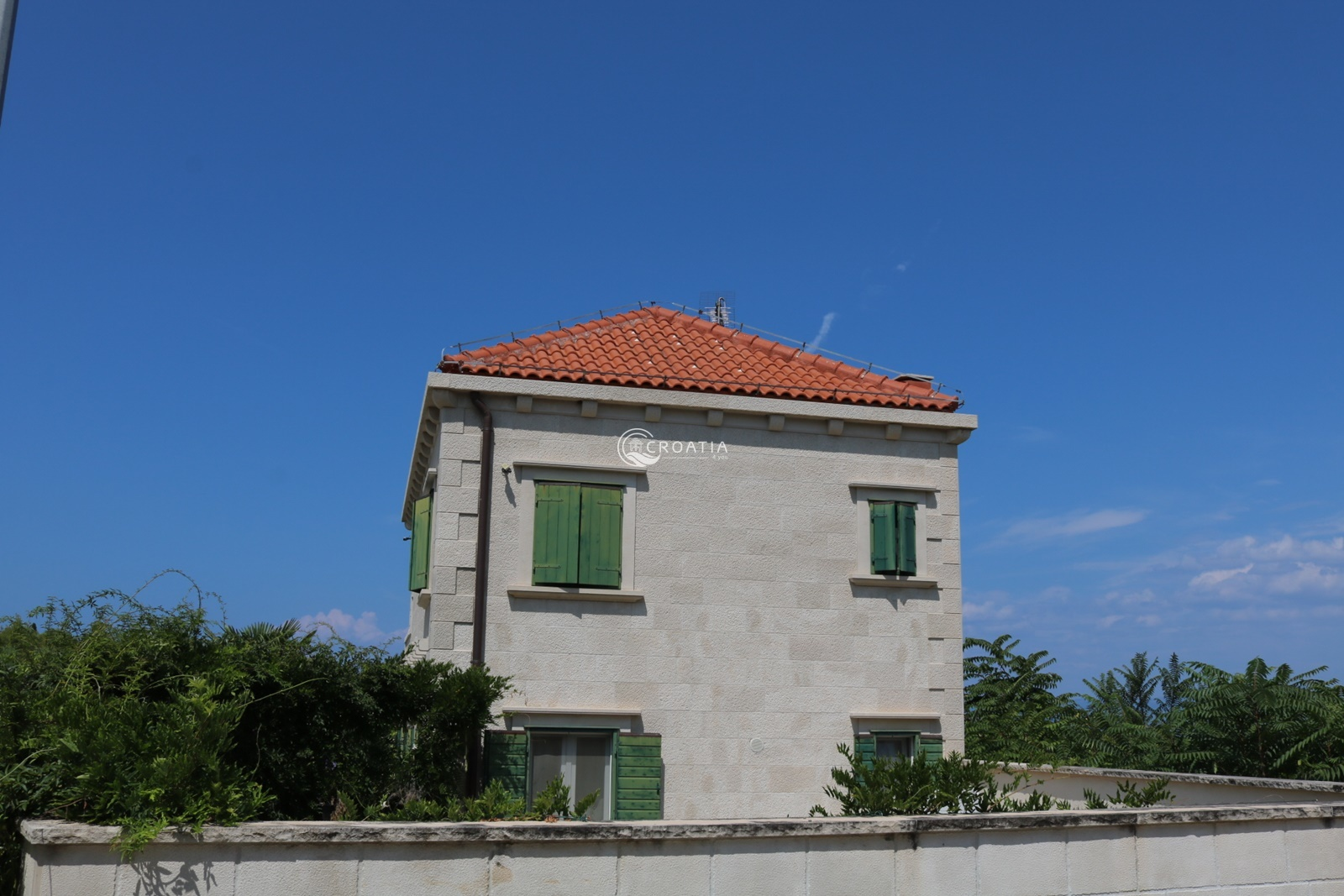 Luxury stone villa on the island of Brac