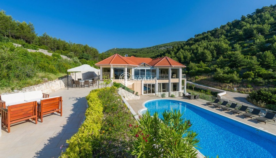 Luxury Villa on island Korcula
