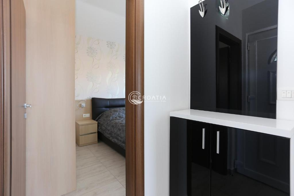 One bedroom apartments in residental building
