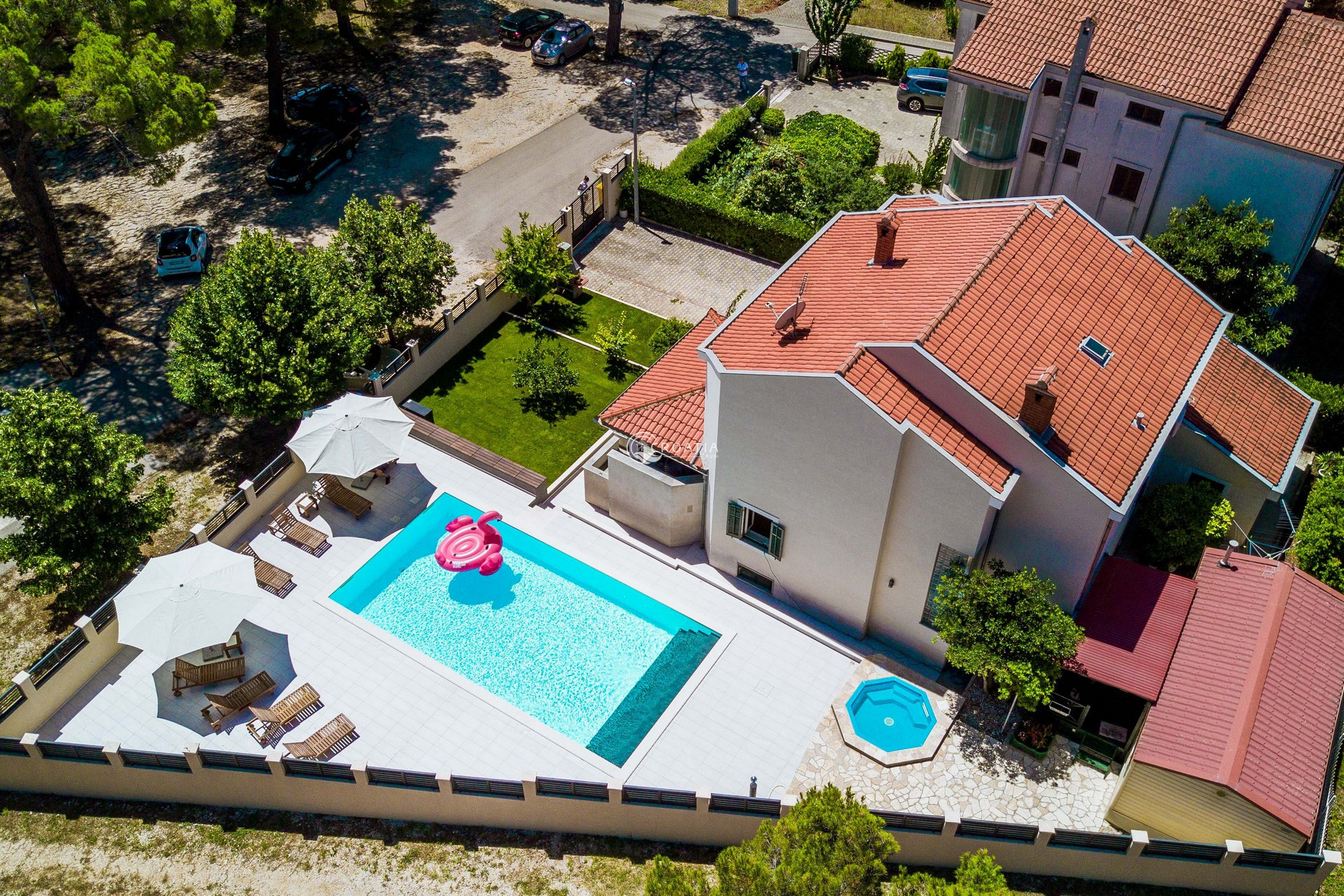 Holiday home with a pool for rent in Zadar