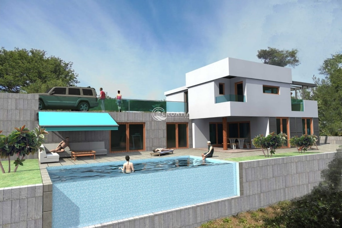 New modern luxury Villa in Podstrana - under construction