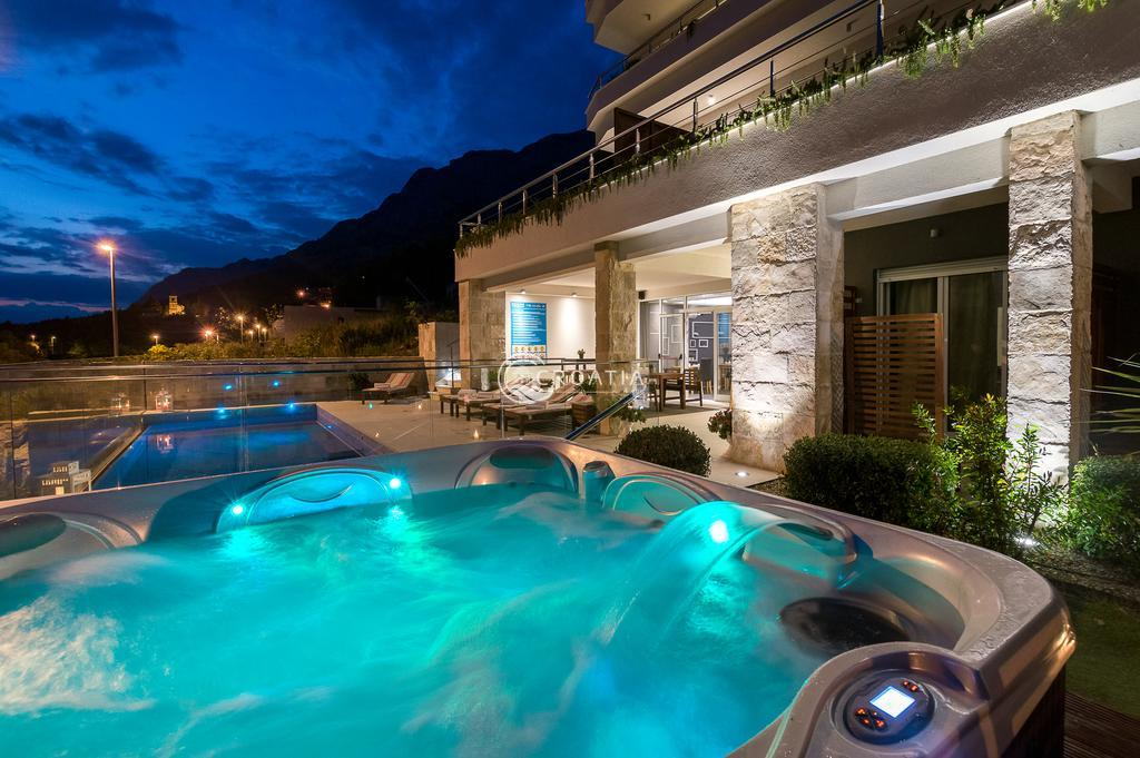 Luxury apartments with pool